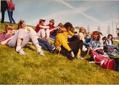 19820411nr10 Onderschrift: 1982 April toernooi Angers  Opmerking: toernooi Angers Pasen 1982 11 en 12 april   Collectie Suasso  Fotograaf: Edmee Suasso  Formaat: 14 x 10  Afdruk kleur