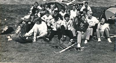 19820411nr02 Onderschrift: 1982 April toernooi Angers  Opmerking: toernooi Angers Pasen 1982 11 en 12 april   Collectie Suasso  Fotograaf: Edmee Suasso  Formaat: 24 x 12  Afdruk zw