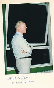 19860912nr11  ALV 12 september 1986  Onderschrift: Frank van Orden oud-voorzitter   Collectie Van Noortwijk  Fotograaf: ?  Formaat: 15 x 10  Afdruk kleur