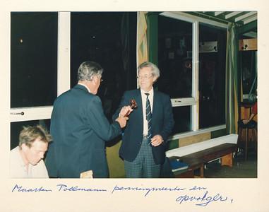 19860912nr06  ALV 12 september 1986   Collectie Van Noortwijk  Fotograaf: ?  Formaat: 15 x 10  Afdruk kleur