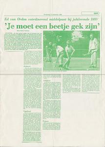 19880915 Artikel Deventer Dagblad 15 september 1988  Collectie Ed van Orden