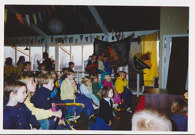 19881203 Onderschrift: geen Opmerking: Strooigoedtoernooi 3 december 1988   Collectie Jeroen Kok Fotograaf: Jeroen Kok Formaat|: 15 x 10 Afdruk kleur