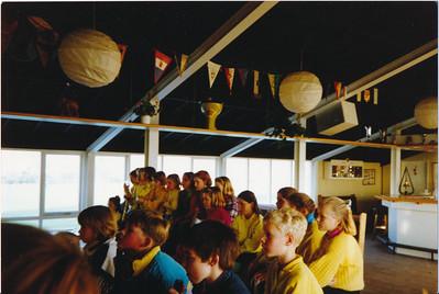 19881203  Onderschrift: geen  Opmerking: Strooi-goedtoernooi 3 december 1988   Collectie Jeroen Kok  Fotograaf: Jeroen Kok  Formaat 15 x 10  Afdruk kleur