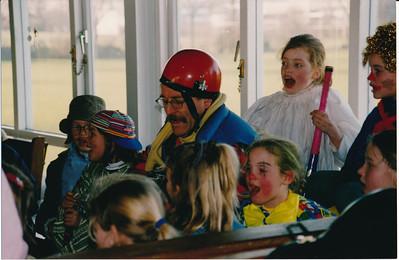 19931020nr3  Onderschrift: geen  Opmerking: juniorenpartij met Ed van Orden   Collectie Hylkema  Fotograaf: onbekend  Formaat:  15 x 10  Afdruk kleur
