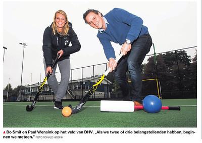 20161021 Onderschrift:  Opmerking: bij artikel over G-hockey op DHV   De Stentor 21 oktober 2016 uit Digitale krant  Fotograaf: Ronald Hissink Formaat: ? Digitaal kleur