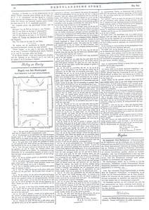 18990923 Regels voor het hockeyspel, 23 september 1899. Vastgesteld door de Nederlandse Hockey- en Bandybond op 14 oktober 1899. Daarna gepubliceerd in de Nederlandse Sport van ???? oktober 1899.