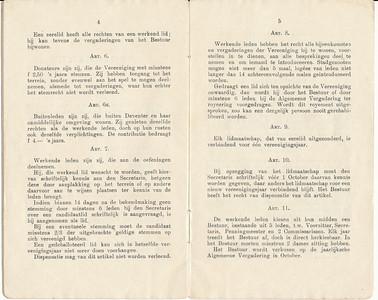 19150128 Reglement 1915 Archief DHV