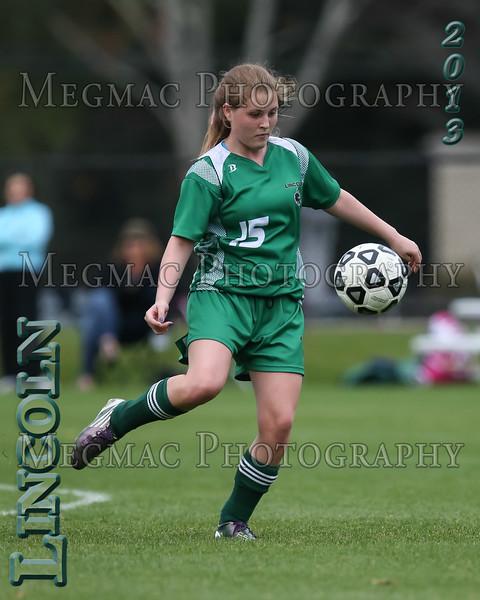 2013 Girls Soccer - Lincoln School