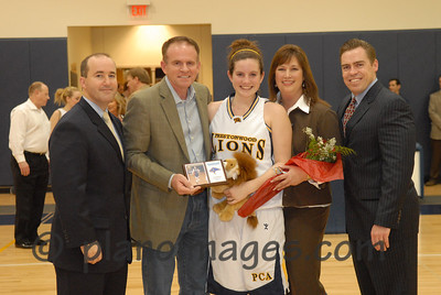 Senior Night- Winter Sports, Prestonwood Christian Academy