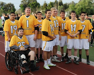 Granada Senior Night Lacrosse May 6th, 2016