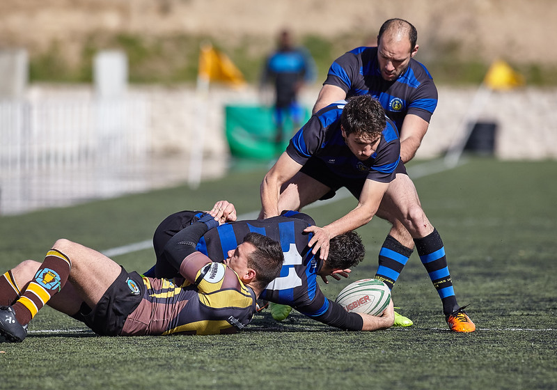I.Industriales B vs Getafe RC: 13-17