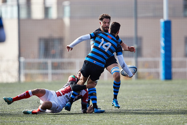 I.Industriales A vs Unión Rugby Almeria: 19-13