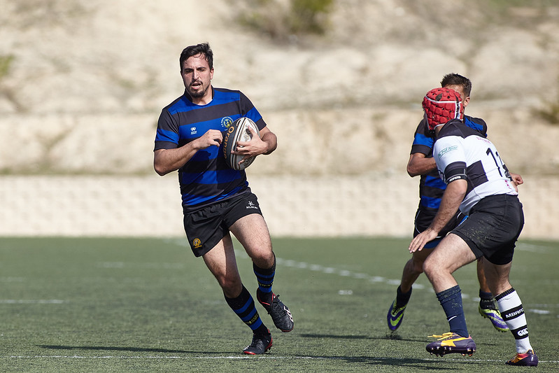 I.Industriales B vs Madrid Barbarians: 15-18