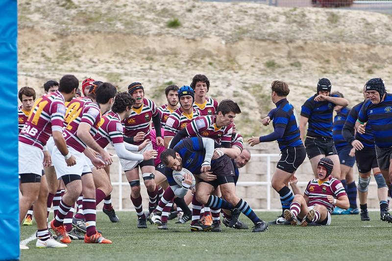 I.Industriales C vs Alcobendas Rugby D: 15-31