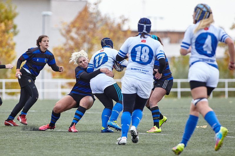 I.Industriales Femenino vs Olímpico de Pozuelo RC Femenino: 0-97