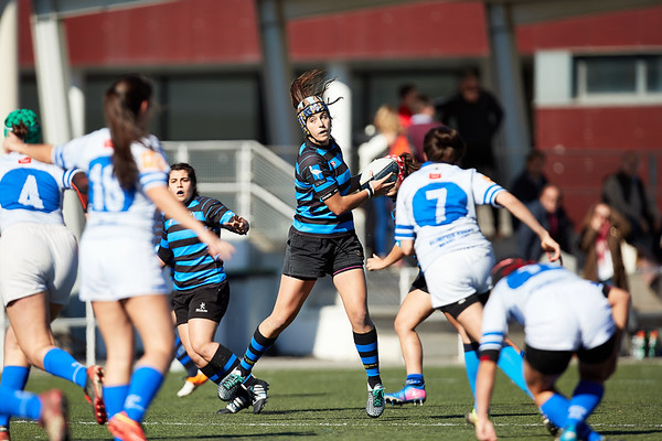 I.Industriales Femenino vs Olímpico de Pozuelo Femenino: 48-0