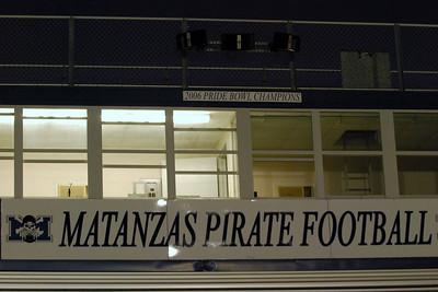 003 2009 Matanzas High School Football vs Ferdinina Beach Senior Night