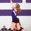 9-12-13<br /> Northwestern vs Maconaquah volleyball<br /> Northwestern's Hannah Ballard<br /> KT photo | Kelly Lafferty