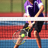 9-3-13<br /> Kokomo vs. Northwestern boys tennis<br /> NWHS 3 singles Kyle Douglass<br /> KT photo | Kelly Lafferty
