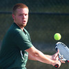 9-11-13<br /> Eastern vs. Western tennis<br /> Eastern 2 singles Logan Colwell<br /> KT photo | Kelly Lafferty