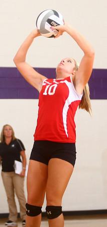 9-12-13<br /> Northwestern vs Maconaquah volleyball<br /> <br /> KT photo | Kelly Lafferty