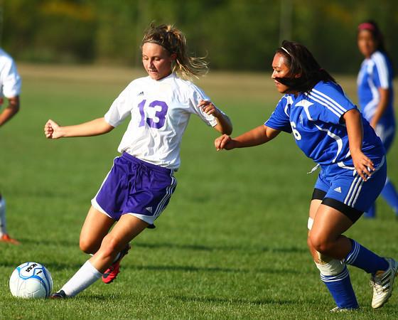 9-5-13<br /> Northwestern vs. Frankfort girls soccer<br /> <br /> KT photo | Kelly Lafferty