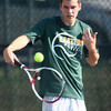 9-11-13<br /> Eastern vs. Western tennis<br /> Eastern 3 singles Robbie Walling<br /> KT photo | Kelly Lafferty