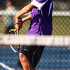 9-3-13<br /> Kokomo vs. Northwestern boys tennis<br /> NWHS 2 singles Clayton Douglass<br /> KT photo | Kelly Lafferty