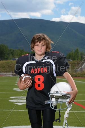 sept. 8'th 2013 3/4 Aspen Football