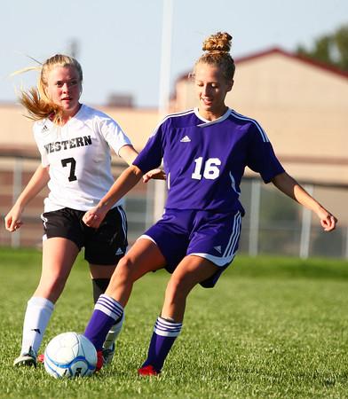 Northwestern vs Western soccer