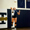 Teutopolis' Julie Wente rises up for a serve during the Lady Shoes' 25-17, 25-23 win over Cowden-Herrick at Teutopolis Junior High.