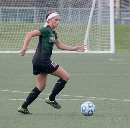 Ellie Clifford looks to bring the ball up the field against Westfield on Wednesday.