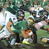 Ben Ardelean tackles a Westfield player on Friday.