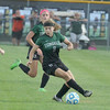 Photo by Will Willems | Times Sentinel<br /> <br /> Zionsville's Ellie Lewis controls the ball Monday, Sept. 19 in the game against Avon.
