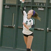 Leah Daniel gets one of her three aces on Thursday.