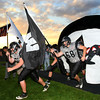 9-28-12 <br /> Western HS vs. Eastern HS football<br /> Panthers being introduced at the game.<br /> KT photo | Tim Bath