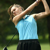 9-14-12<br /> Girls Sectional Golf at Chippendale<br /> Tipton's Lela Crawford teeing off the 5th.<br /> KT photo | Tim Bath