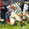 9-28-12 <br /> Western HS vs. Eastern HS football<br /> Eastern's Austin Bates running the ball.<br /> KT photo | Tim Bath