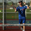 9-11-12<br /> Kokomo HS tennis<br /> Parker Sanburn played 1 doubles for Kokomo High School on Tuesday against Lafayette.<br /> KT photo | Kelly Lafferty