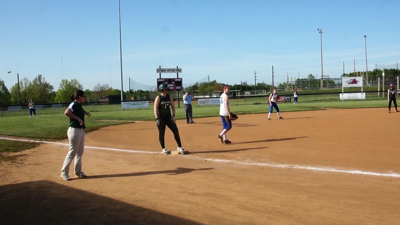 014 - Veronica Throws Late to 1st Base