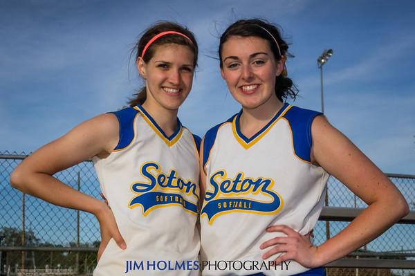 Seton Softball vs John Paul the Great 5-3-2013