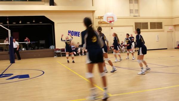 Seton Volleyball vs Christ Chapel Academy - Sept 7, 2012