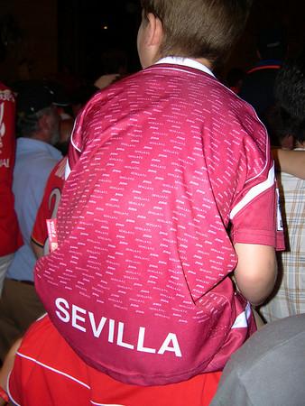Sevilla FC returns home, 2007
