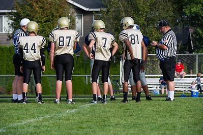 2012  8th grade Shahala Eagles vs Frontier