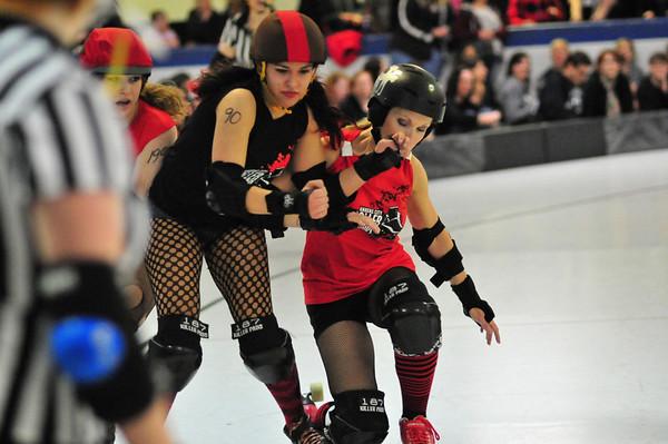 Shamrock Showdown Roller Derby 3.19.2011