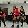 Roller Derby, men and women, Mo 3.19.2011