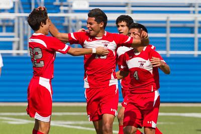 Daniel Garcia's first goal and celebration.