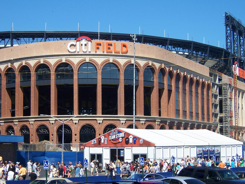 The new Citi Field, home of the Mets in 2009