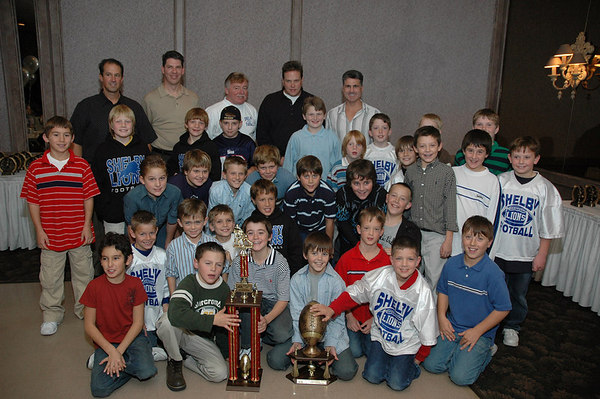 November 12th, 2006: The 2006 Shelby Lions Football Club Banquet