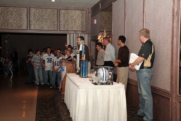 November 11th, 2007: The 2007 Shelby Lions Football Club Banquet